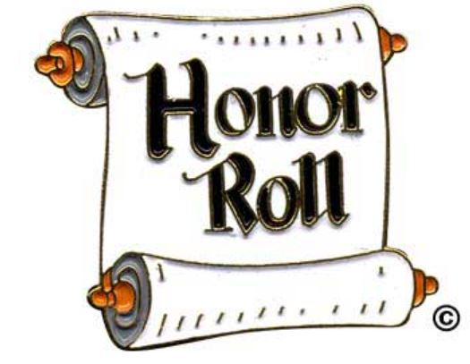 Term 1 & 2 Honor Roll