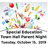 Special Education Town Hall Meeting for Parents
