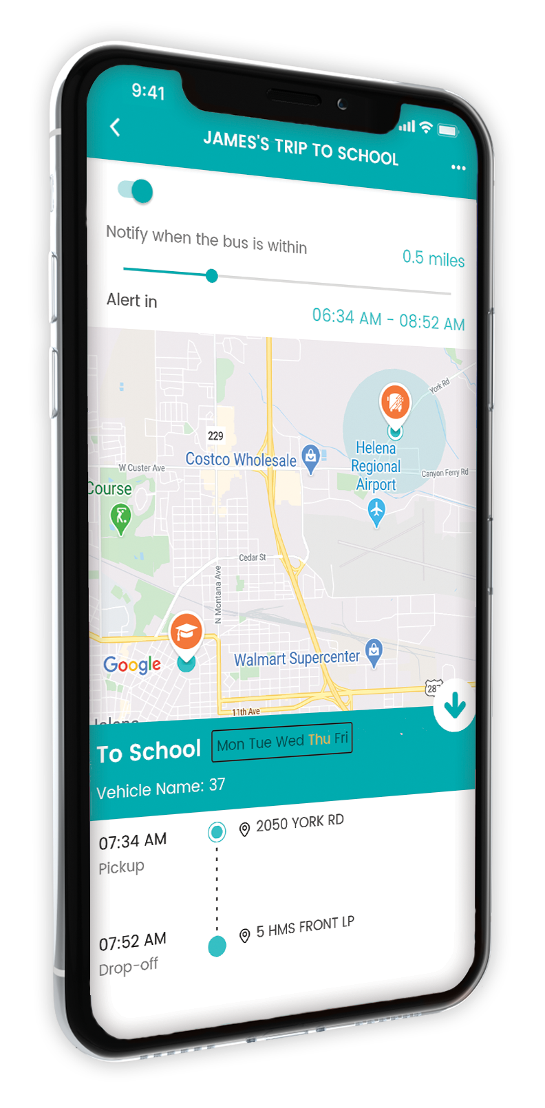NEW Bus Transportation App