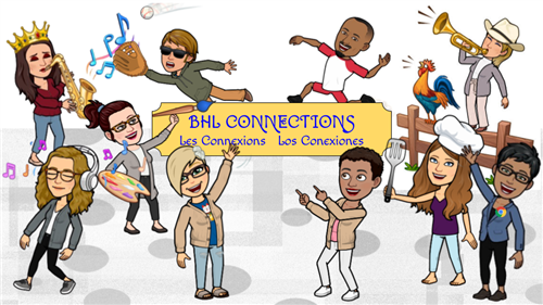 Connections Landing Page